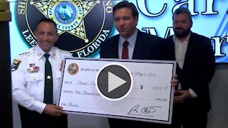 Governor Ron DeSantis Announces Pandemic Bonus for Florida's First Responders in Fort Myers 5/5/21