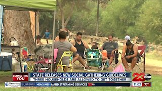 State releases new social gathering guidelines