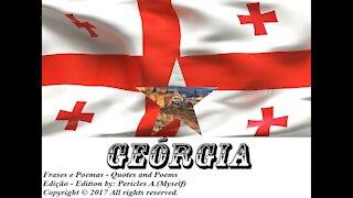 Bandeiras e fotos dos países do mundo: Geórgia [Frases e Poemas]
