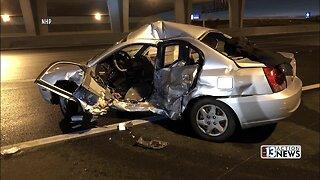 Driver killed in crash Thanksgiving night