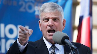In Covid vaccine push, Franklin Graham claims Jesus would have taken vaccines if they were available