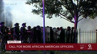 Sentinel president: We need more black police