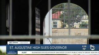 San Diego Catholic high school sues Newsom