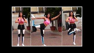 Shilpa Shetty Shows Off Her Yoga Skills