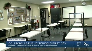 Project Safe Schools: Collinsville Public Schools, First Day Back To The Classroom