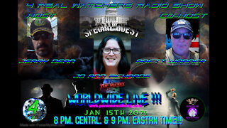 4 REAL WATCHERS RADIO SHOW - Guest JO ANN RICHARDS - Speaker, Author, and Paranormal Expert! 1/15/21