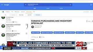 Local Ag Companies Hiring