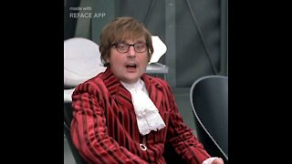 Ironmanduck as Austin Powers