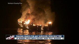 investigation continues into deadly boat fire near Santa Cruz Island