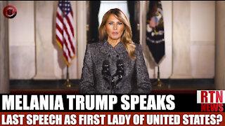 Melania Trump: Last Speech as First Lady   RTN News