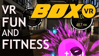 BoxVR review: VR fitness, fun and exercise!