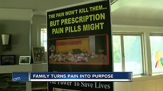 Family turns pain into purpose dealing with addiction