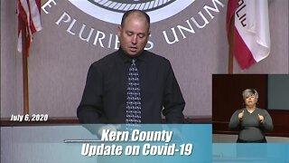 Kern County Health Department Coronavirus Update: July 6, 2020