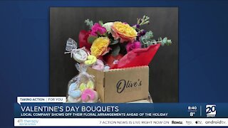 Making a Beautiful Bouquet with Olive's Bloombox