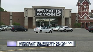 Man arrested after carjacking, kidnapping woman at Bed Bath & Beyond in Taylor