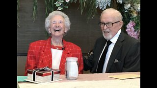 Las Vegas couple renews vows after 75 years of marriage