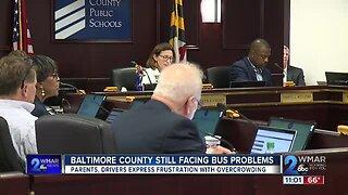 Baltimore County still facing bus problems