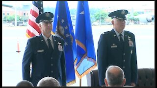 627th Air Base Group Change of Command