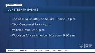 Celebrating Juneteenth across the Tampa Bay area