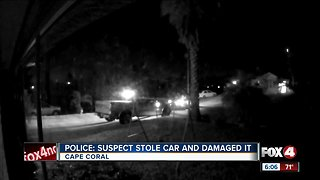 SUV stolen Cape Coral ends up at Sams Club