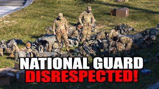 Biden's Regime Throws National Guard into a Parking Structure