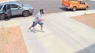 LVMPD: Suspected package thief arrested
