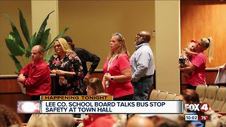Solutions for bus stop safety discussed at town hall meeting
