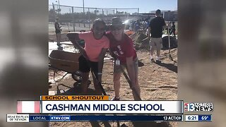 SCHOOL SHOUTOUT: Cashman Middle School (Wednesday)