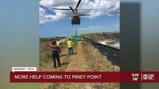 Gov, DeSantis tours Piney Point
