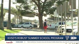 KHSD's robust summer school program