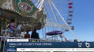 Smaller San Diego County Fair opens in Del Mar