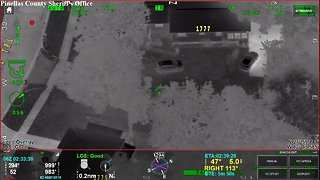 Helicopter video of teenagers arrest for grand theft auto