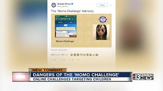 Vegas father concerned about potentially deadly 'Momo Challenge'