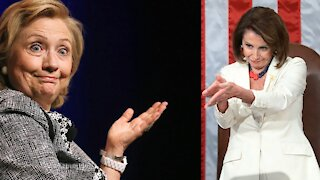 Clinton and Pelosi on Podcast about PATRIOT ACT 2.0!