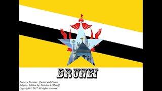 Bandeiras e fotos dos países do mundo: Brunei [Frases e Poemas]