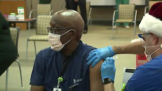 COVID vaccines administered at Gulf Coast Medical Center