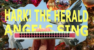 How to Play Hark the Herald Angels Sing on a Tremolo Harmonica with 20 Holes