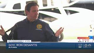 Gov. Ron DeSantis visits US-Mexico border during Texas trip