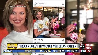 Tampa bakery helping woman fighting cancer with milkshake sales