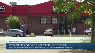 New Meijer store expected in Detroit