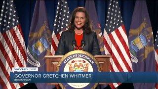 Whitmer speaks during first night of DNC