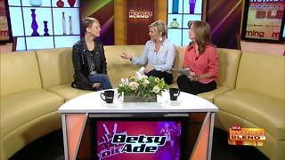 """Chatting with Local """"Voice"""" Contestant Betsy Ade"""