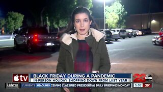 Black Friday shoppers begin to gather at Valley Plaza Mall
