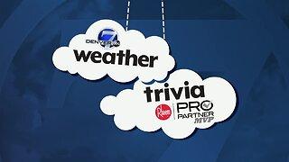 Weather trivia: Warmest April day on record for Denver