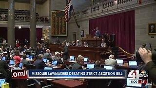 Missouri Senate passes strict abortion bill