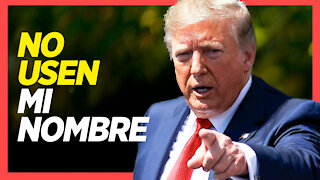 """Trump pide a republicanos no recaudar fondos con su nombre; Frontera Sur """"fuera de control"""""""