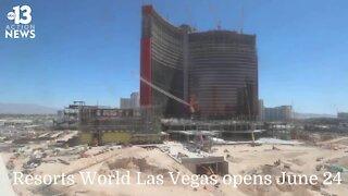 Resorts World timelapse