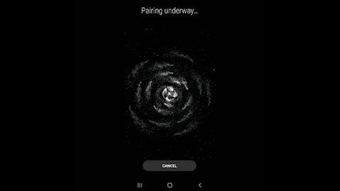 Samsung Bluetooth Pairing Screen