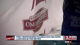 First responders foundation delivers lunches in the metro