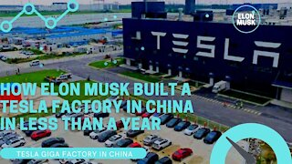 How Elon Musk Built a Tesla Tera Factory in China in Less Than a Year